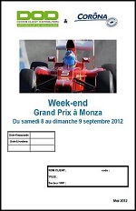 Week end au GP de MANZA
