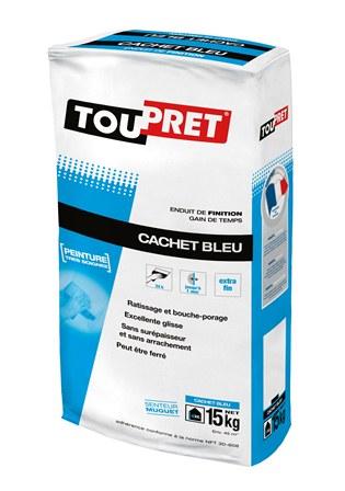 Dod toupret cachet bleu nfe sac 15k - Enduit de lissage exterieur toupret ...