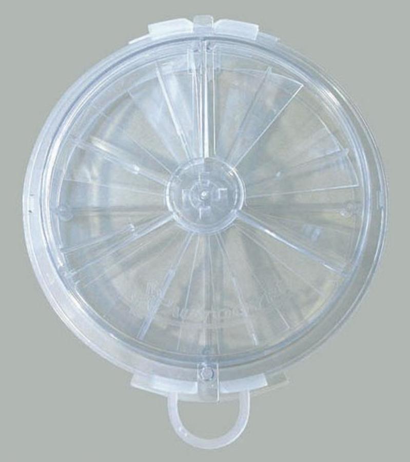 BONLAVIE Bague Femme en Argent 925 avec Grand Oxyde de Zirconium 3.5 CT Rond 2.25mm Argent/é//Blanc 50-62