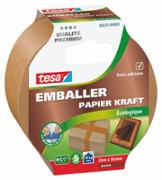 Emballer - Papier Kraft ecoLogo marron 20m x 50mm