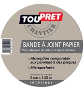 Bande à joints papier 5cmx153ml