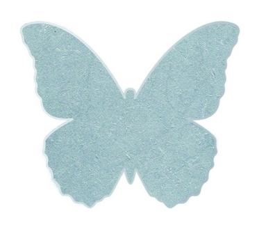 Lest de maintien Butterfly magnetic 5cm, lot de 4 lests