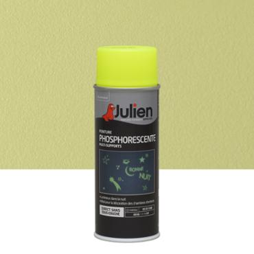 Aérosol multi-supports phosphorescent 400ml Jaune